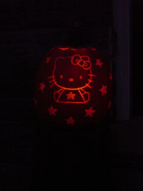 vire pumpkin stencil kitty pumpkin