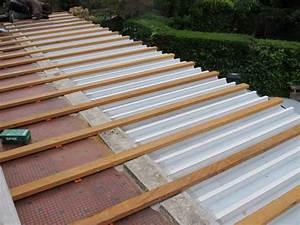 bac acier sous terrasse et passerelle bois With etancheite sous terrasse bois