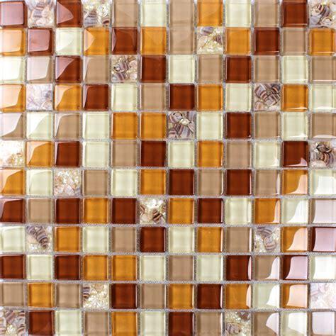 Crystal Glass Tiles  Sheet Colors Mosaic Wall Mesh Tile