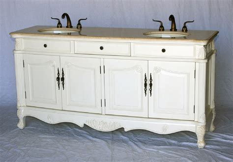 double sink antique style bathroom vanity antique