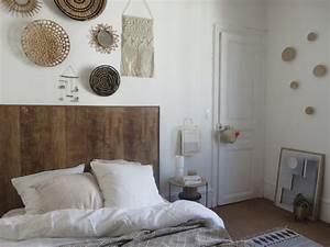Tete De Lit En Bois : fabriquer une t te de lit fa on bois joli place ~ Teatrodelosmanantiales.com Idées de Décoration