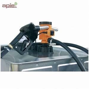 Pompe A Fioul Electrique : pompe lectrique gasoil avec pistolet simple ~ Melissatoandfro.com Idées de Décoration