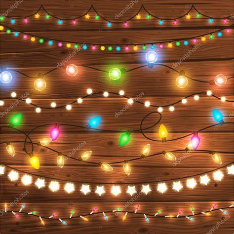 glowing christmas lights stock vector 169 ozerina 70423845