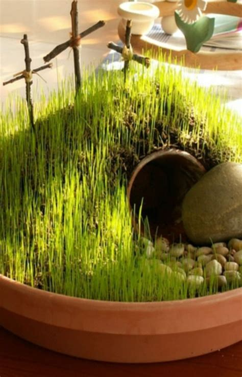Diy Mini Resurrection Garden Ideas Easter
