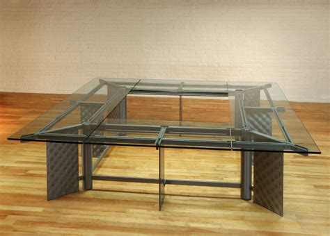 Large Square Conference Table