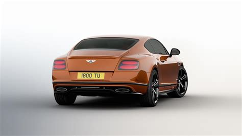 Official 2017 Bentley Continental Gt Speed Black Edition