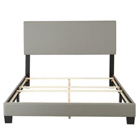 bed frames target langley leather upholstered platform bed frame eco 10241 | 53263201?wid=488&hei=488&fmt=pjpeg