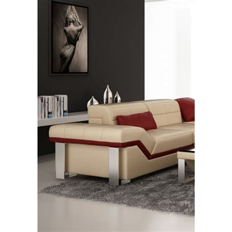 canapé cuir design luxe canapé d 39 angle design en cuir torino pouf pop design fr