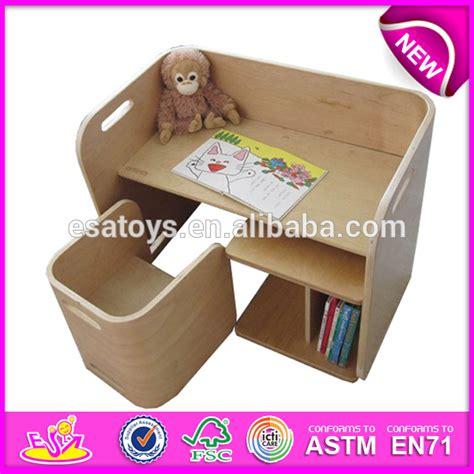 bureau pour bebe en bois visuel 5