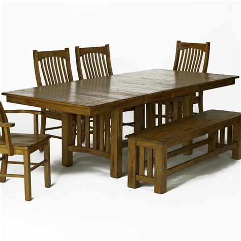 amish dining table with self storing leaves aamerica laurelhurst trestle table with self storing