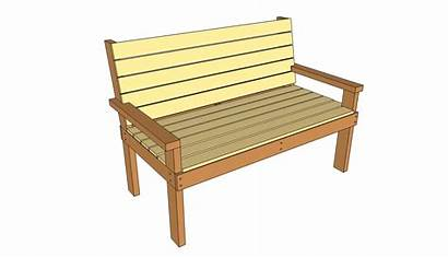 Bench Plans Park Wooden Benches Wood Outdoor