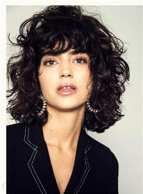 shag haircut curly images  pinterest curls hair cut  hairdos