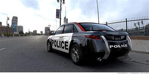 Future Cop Cars  Carbon E7 Diesel Power (9) Cnnmoneycom