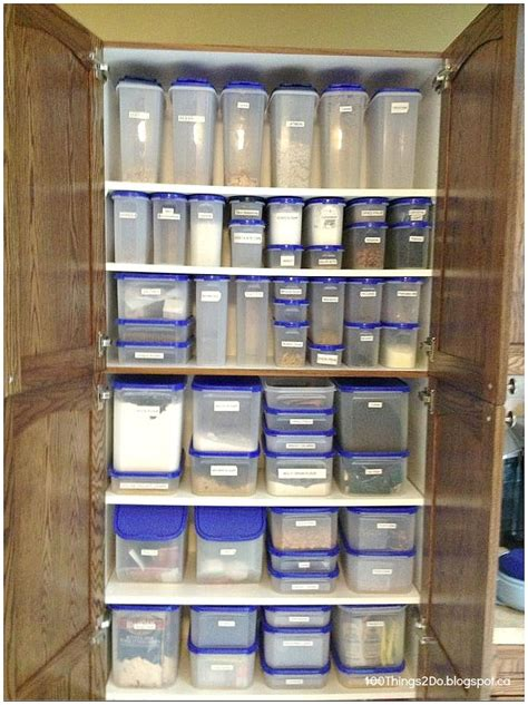 tupperware kitchen organization tupperware 100 things 2 do organization pantry 2963