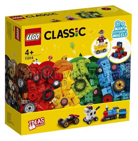 11014 LEGO® Classic Klucīši un riteņi, no 4+ gadiem NEW ...