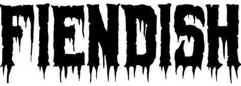 dripping scary font fiendish scary font halloween fonts  halloween fonts