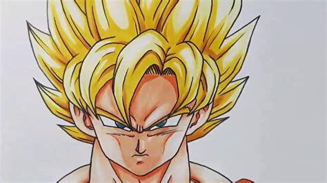 Como Desenhar o Goku Super Saiyajin Deus (Sayajin) Passo a