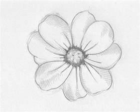 Pretty Simple Flower Drawing
