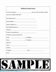 Medical Consent Form Template