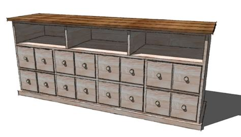 apothecary chest plans  woodworking