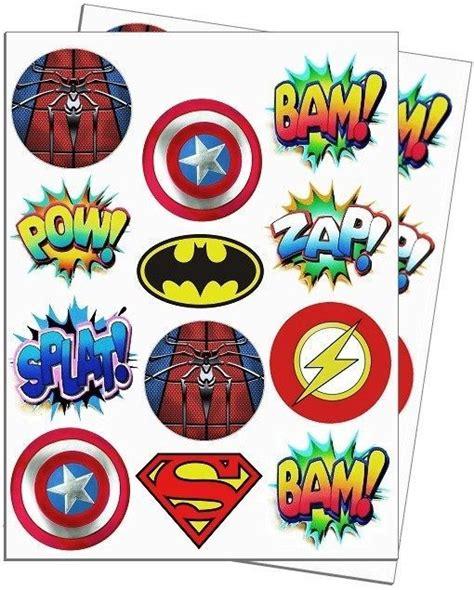 letters of the alphabet toppers superheroes buscar con festa de 32841