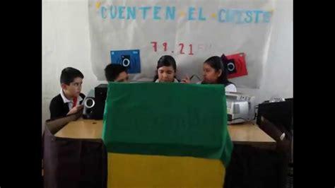Programa de radio por alumnos de 6° B de la Escuela