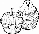 Halloween Lineart Coloring Clipart Cupcakes Drawing Line Muffin Linearts Muffins Cupcake Pumpkin Transparent Chocolate Ausmalbild Pegasus Deviantart Winged Unicorn Favourites sketch template