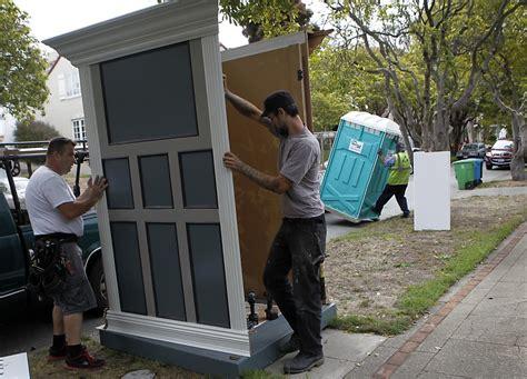 disguises  portable toilets    hide sfgate
