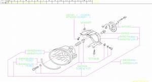 2005 Subaru Forester Socket Complete