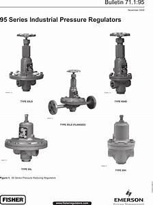 Emerson 95 Series Pressure Reducing Regulators Data Sheet