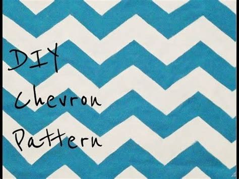 Chevron Template For Painting by Diy Paint A Chevron Pattern From Scratch