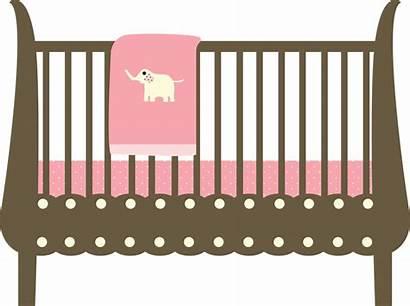 Crib Clipart Cot Cartoon Clip Bed Transparent