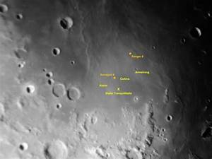 Apollo 11 landing site and other lunar treasures ...