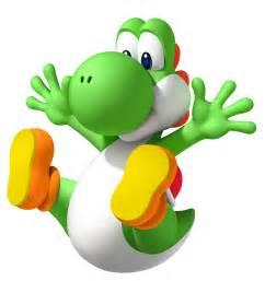 Transparent Super Mario Yoshi
