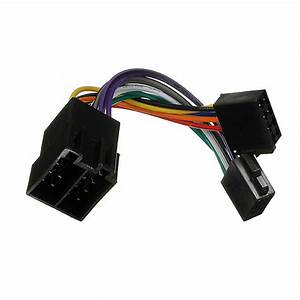Iso Wiring Harness Connector Adaptor Stereo Radio Lead Loom For Peugeot 206 307 405 607