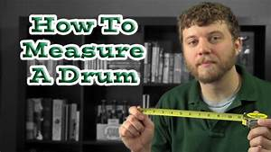 How To Measure A Drum  On A Drum Set
