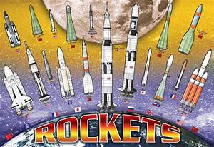 International Space Rockets - Athena Posters