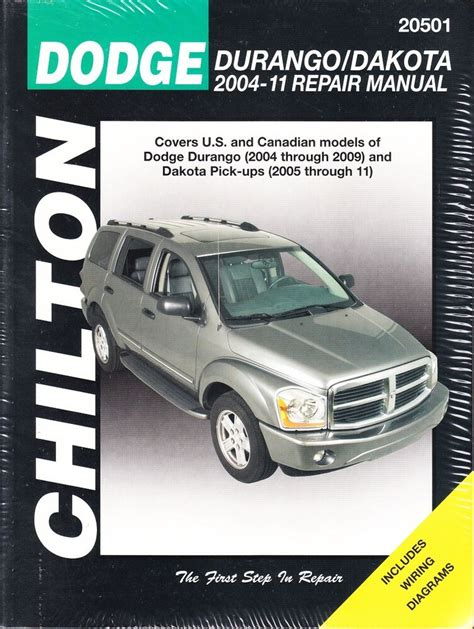 car manuals free online 2006 dodge durango electronic toll collection 2004 2005 2006 2007 2008 2009 2010 2011 dodge durango dakota repair manual 29880 ebay
