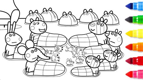 peppa pig coloring page pathtalkorg