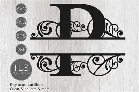 split monogram letter p svg letter p monogram svg letter  cut files design bundles