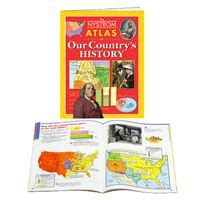 junior geographer atlas set of 30 combines a skills
