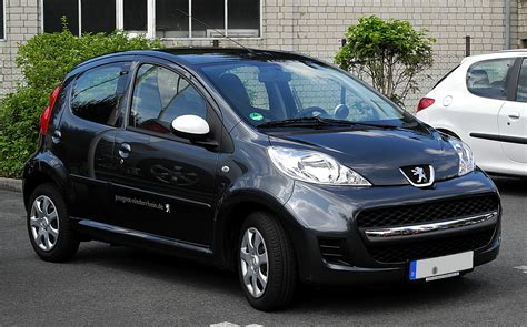 Peugeot 107 Urban Move Technical Details, History, Photos