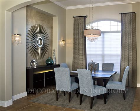how to decorate a recessed wall niche in your dining