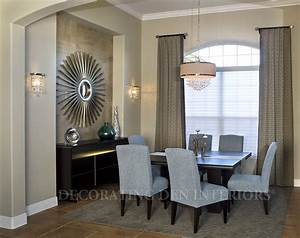 how to decorate a recessed wall niche in your dining room With how to decorate a dining room wall