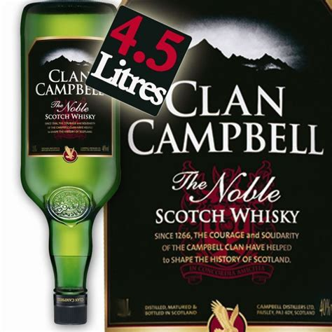 carrefour canapé clan cbell gallon whisky 4 5l achat vente clan