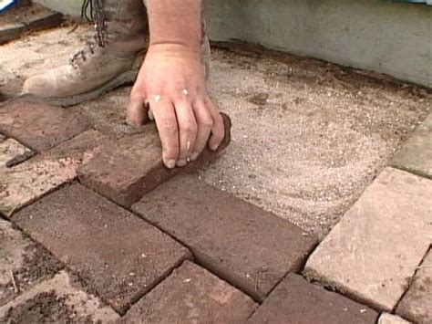 how to repair a brick walkway how tos diy
