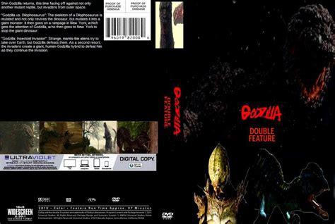 Godzilla 2017 Double Feature Dvd Cover By Steveirwinfan96