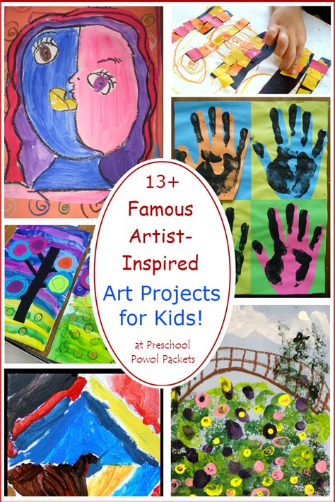 13 artists inspired projects for 423 | d61209ef453eaf902d981b2d07b97d90