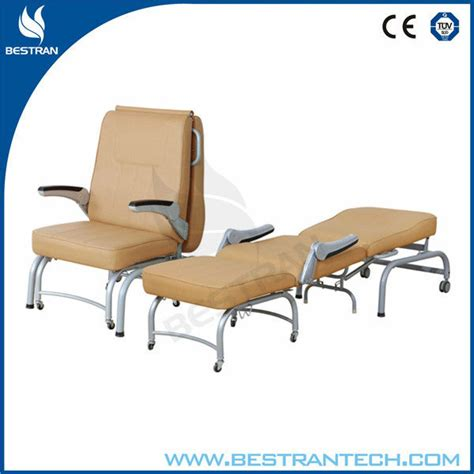 bt cn005 luxurious folding hospital attendant chair