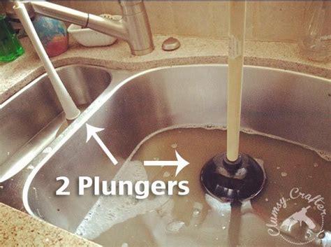 unclogging sink ideas  pinterest unclog sink drain clogged sink drain  diy